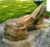 cast stone bench, concrete bench, wood bench, outdoor garden bench, western ceder garden bench, rustic wood bench, stone bench, wood sculpted bench, cast stone bench, patio furniture