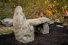 patio bench, garden bench, concrete bench, outdoor garden bench, western ceder garden bench, rustic wood bench, stone bench, Stone Lounge Bench, Cast Stone Garden Bench, Concrete Outdoor Memorial Bench