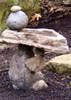 Balancing Rock Birdbath, Stone Bird Baths, Bird Bath Fountains, Birdbath Feeders, Outdoor Decor, Stone sculpture, balancing rock sculpture, Water feature, Tiered pond less feature, pond less water fountain,Stone Bird Baths, Bird Bath Fountains, garden birdbath