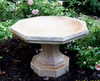concrete small garden decor, Small Octagon Bird bath Athena Garden Cast Stone, Concrete Bird Baths, contemporary Stone Bird Baths, Terracotta Bird Baths