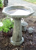 "cement poured, one piece, garden decor, Large Octagon bird bath, contemporary one piece bird bath, modern one piece bird bath, modern birdbath, concrete staturary LS-510.jpg"" alt=""Large Octagon Birdbath"