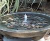 large mirror fountain, concrete Fountain, Garden Fountain, Water feature, pondless water fountain, cast stone bird bath
