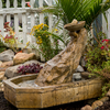 Artisian Well Fountain - Tuscan and Mediterranean style Cast Stone Tuscan Garden Fountain, Garen Fountain, Water feature, Tiered pondless feature, pondless water fountain, Tuscan Garden Fountain