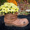 Country Boot Planter