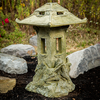 "Concrete outdoor decor, Garden Lantern, An unprecedented functional design with stained glass windows in both light house & top. A must for Japanese gardens! Not the usual Stone Pagoda! • 3 Piece Lantern (base, light house, top) • Made of Glass Fiber Reinforced Concrete (GFRC) • Multiple colors available (comes w. stained glass) An unprecedented functional design with stained glass windows in both light house &amp; top. A must for Japanese gardens! Not the usual Stone Pagoda!<br />                </p>                <p class=""paragraph_style_1"">• 3 Piece Lantern (base, light house, top)<br />                  • Made of Glass Fiber Reinforced Concrete (GFRC)<br />                  • Multiple colors available (comes w. stained glass)</p"