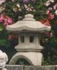 Concrete garden pagoda, hand sculpted concrete decor, Japanese garden stone pagoda, antique Japanese stone lanterns, garden pagoda, Japanese post lantern.