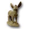 BR-785  Cast Stone Concrete Donkey Sculpture - Front View