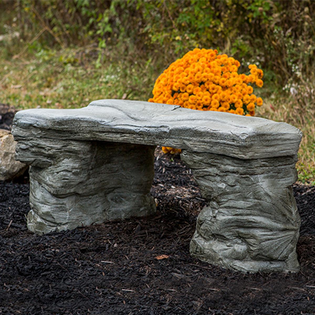 Petrified Rock Bench