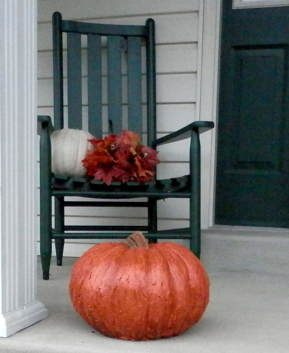 Garden Decor, DIY concrete pumpkins, Stone Pumpkins Athena Garden, Cast stone garden pumpkins, outdoor concrete pumpkins, halloween outdoor decorations, Fall Pumpkin Decor