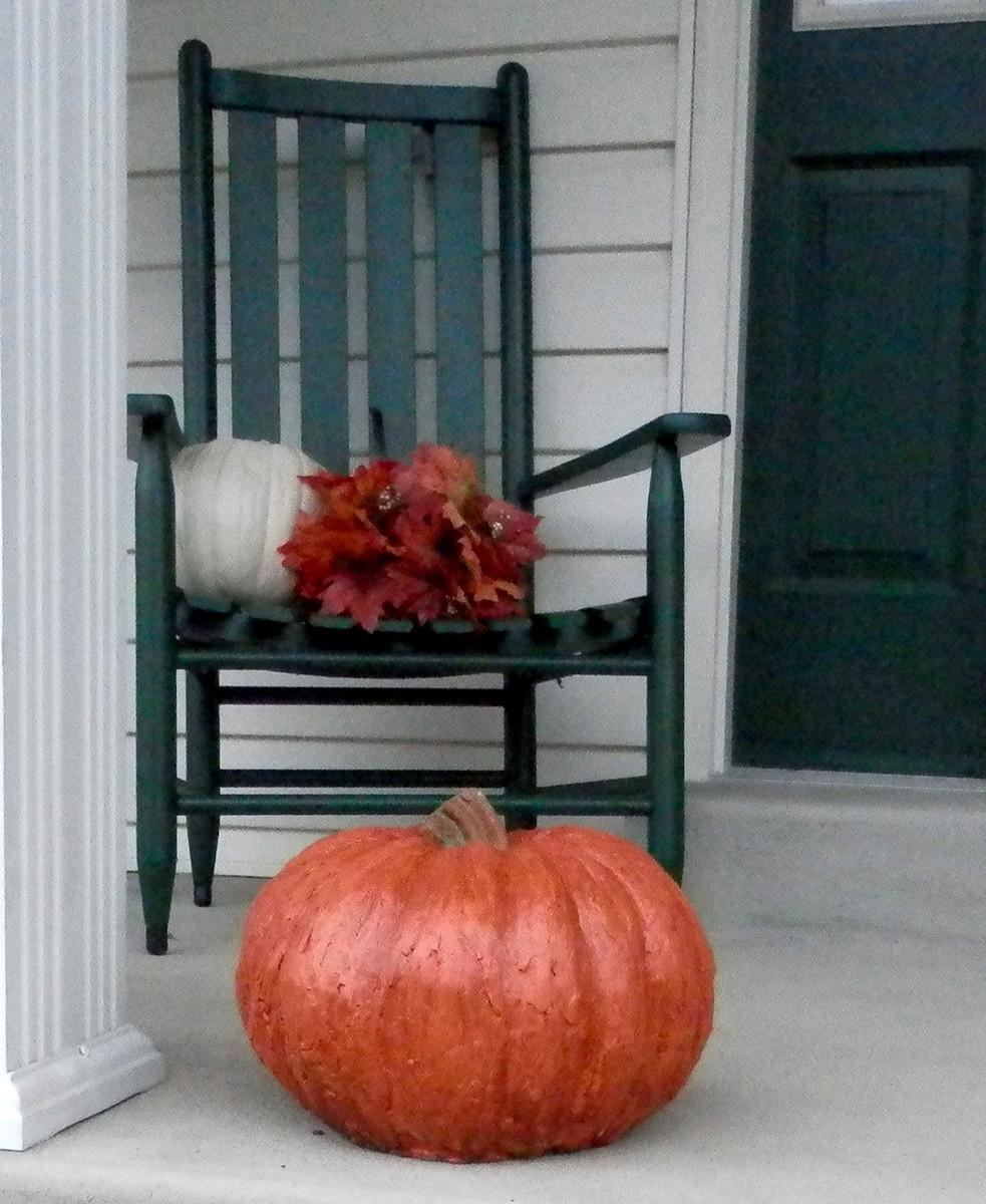 Garden Decor, DIY concrete pumpkins, Stone Pumpkins Athena Garden, Cast stone garden pumpkins, outdoor concrete pumpkins, halloween outdoor decorations, Fall Pumpkin Decor