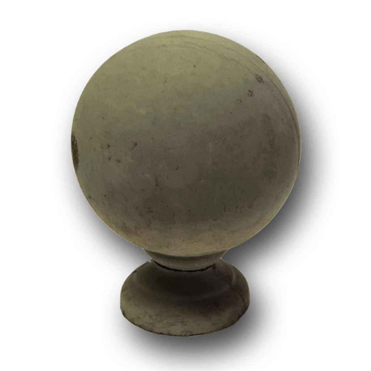 "BR-1102 8"" Ball Architecture Concrete Cap Architecture"