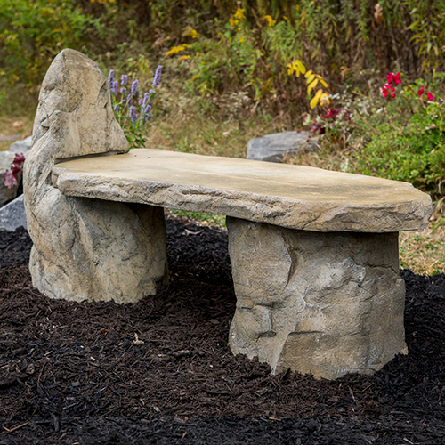 cast stone garden bench, concrete bench, cement bench, stone bench, outdoor garden bench, western ceder garden bench, rustic wood bench, stone bench, Stone Lounge Bench, Cast Stone Garden Bench, Concrete Outdoor Memorial Bench