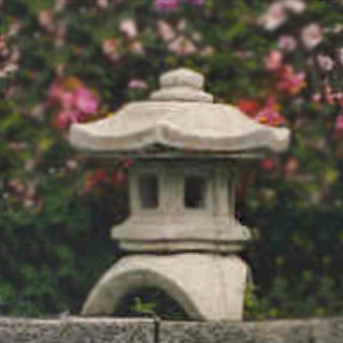 Japanese garden stone pagoda, antique Japanese stone lanterns, garden pagoda, Japanese post lantern,  stone outdoor pagoda, garden decor,