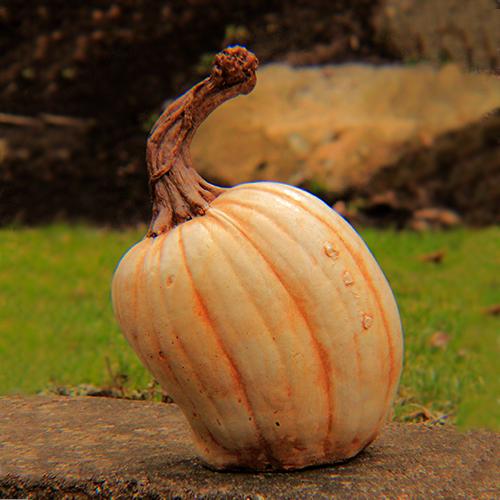 Stone Pumpkins Athena Garden, Cast stone garden pumpkins, outdoor concrete pumpkins, halloween outdoor decorations, Fall Pumpkin Decor