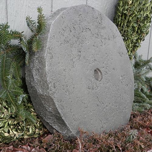 Concrete Millstone, Garden Millstone, Antique Millstone, Grinding Millstone, Colonial Millstone.