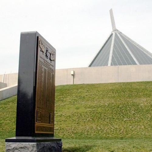 USMC Bronze Memorial
