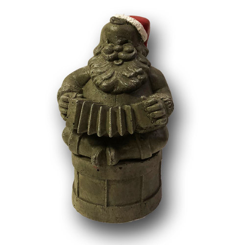 Santa Gnome W/ Accordian
