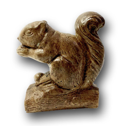 Decorative Squirrel Sculpture
