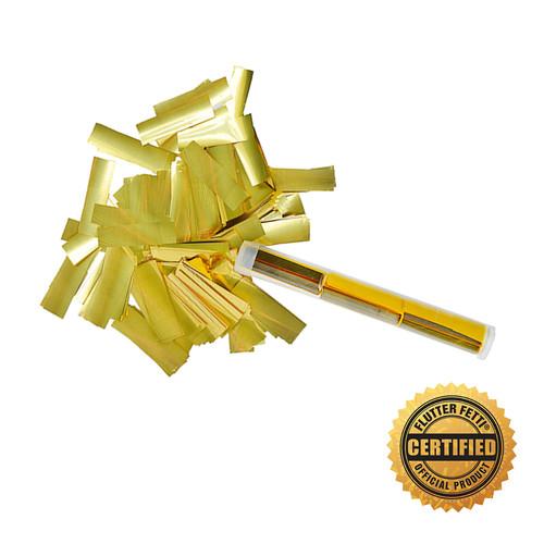 Flutter Flicker®  Metallic Confetti  (Custom Color)- Hand Flick Launcher