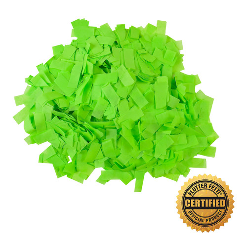 1 lb Bag of Bulk  Neon Tissue Flutter FETTI® Confetti (Custom Colors)