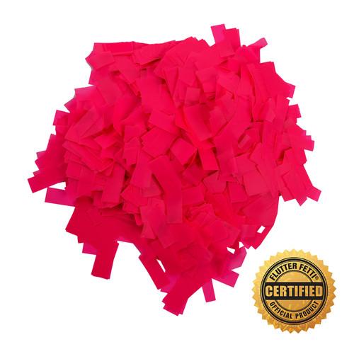 1 lb Bag of Bulk  Neon PVC Flutter FETTI® Confetti (Custom Colors)