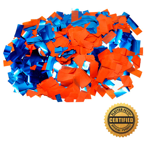 1 lb Bag of Bulk Tissue & Metallic Flutter FETTI® Confetti (Custom Colors)