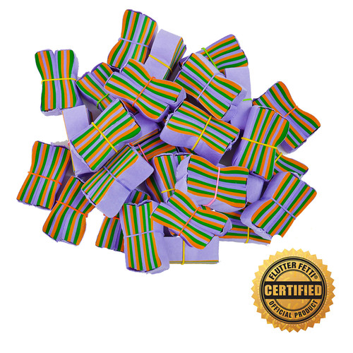 Wrapped & Banded Tissue Confetti by Flutter FETTI® - Custom Colors