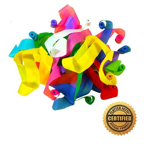 """2"""" x 40' Tissue Stadium Streamers (Custom Colors) (15)"""