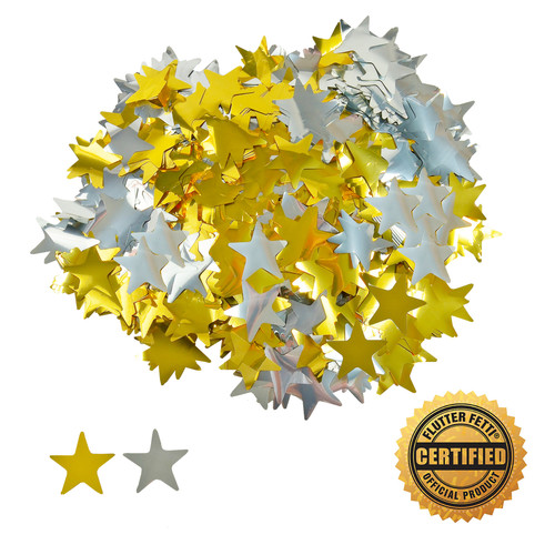 Die Cut Metallic Stars by the Pound - 2""