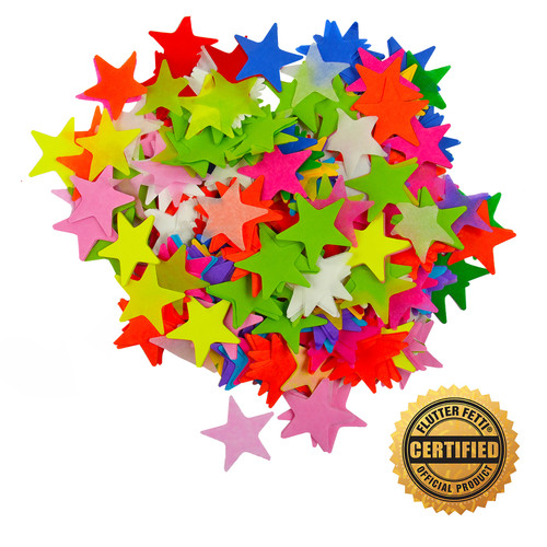 Die Cut Tissue Stars by the Pound - 2""