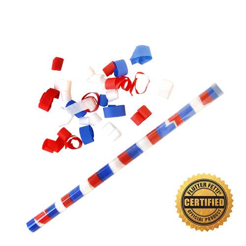"""18"""" Speed Load Flutter FETTI® Confetti Tube w/Tissue Bubbles®"""