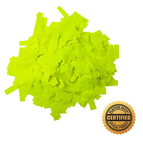 1 lb Bag of Bulk  Neon PVC Flutter FETTI® Confetti (Custom Colors)