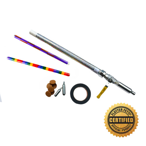 Quarter Turn Handheld Co2 Confetti Launcher (Call Us for Rental Price) (Accessories Shown Sold Separately)