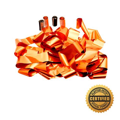 "2"" x 40' Metallic Streamers for Flutter FETTI® Co2 Launchers (15) - Custom Colors"