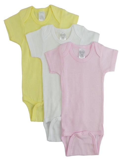 Pastel Girls Short Sleeve Onezies Variety Pack