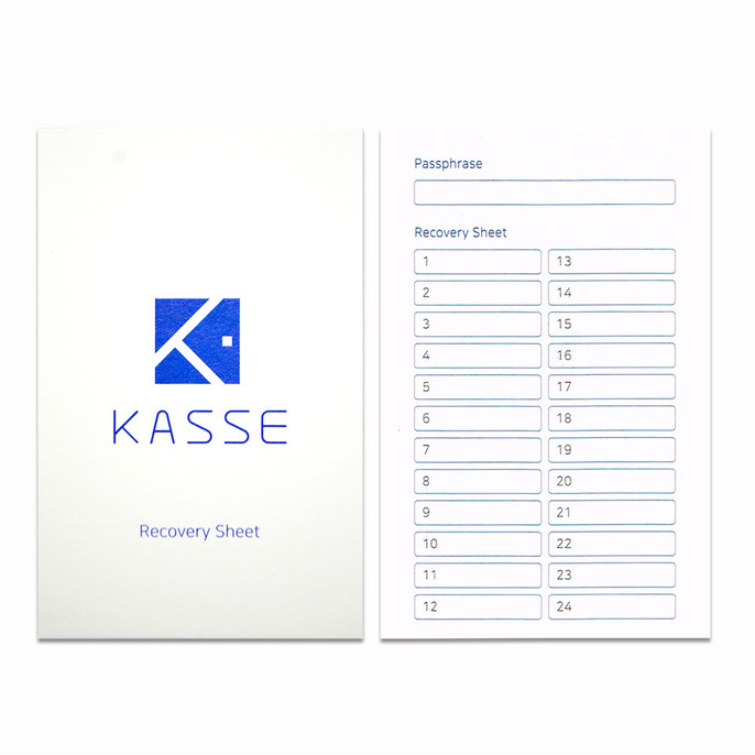 2-Pack of KASSE HK-1000 Cryptocurrency Hardware Wallet