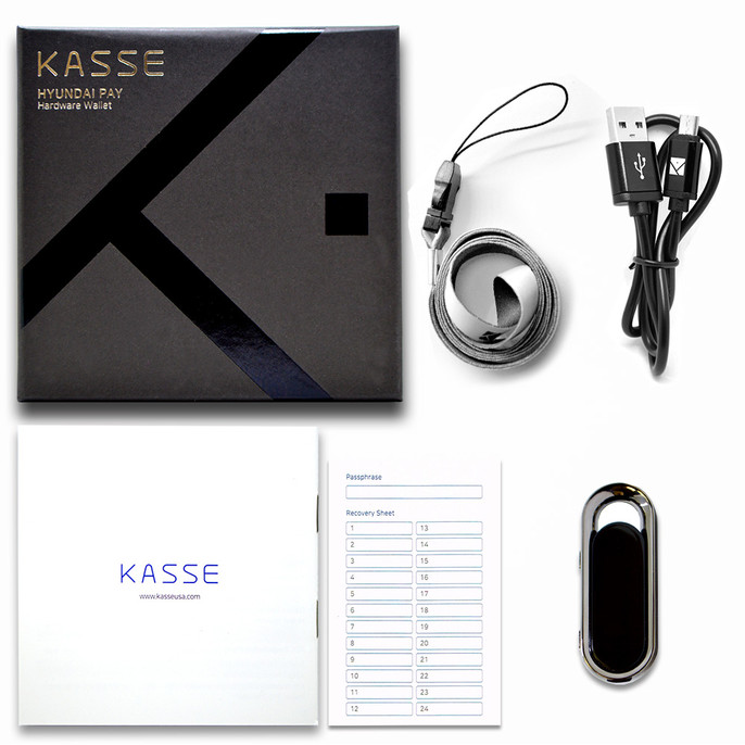 5-Pack of KASSE HK-1000 Cryptocurrency Hardware Wallet