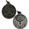 Raziel Silver Color Amulet