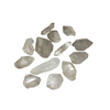 Double terminated natural quartz crystals