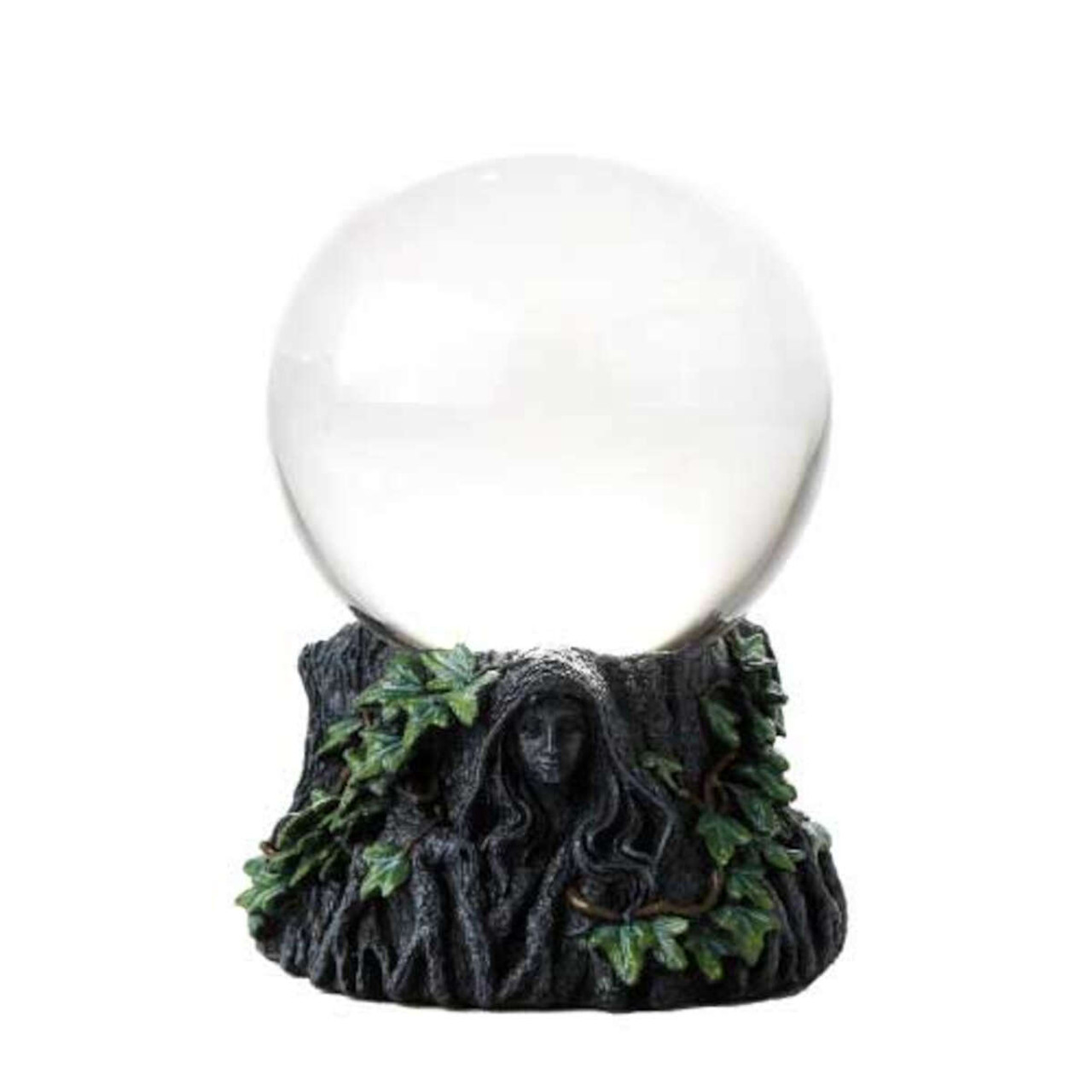 100mm Maiden, Mother Crone with Clear Gazing Ball