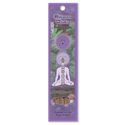 Sahasrara Crown Chakra Incense Sticks