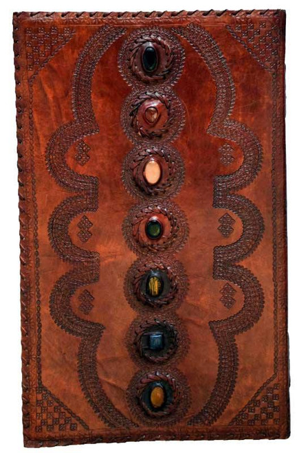 7 Stone  Leather Journal