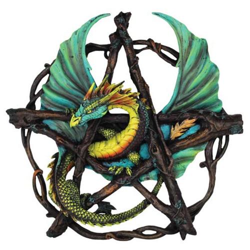"Forest Pentagram Dragon 13"""