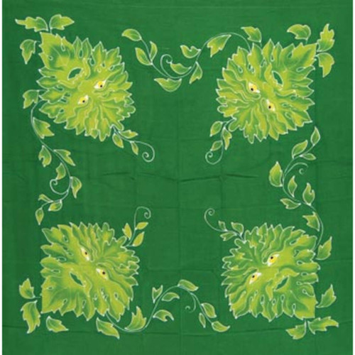 Green Man Cloth 3' x 3'
