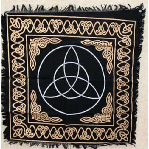"Triquetra Altar or Tarot Cloth 24""x24"""