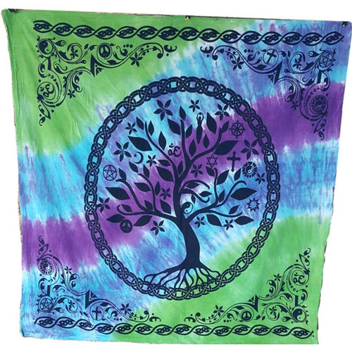 "Tree of Life Altar Cloth 36"" x 36"""