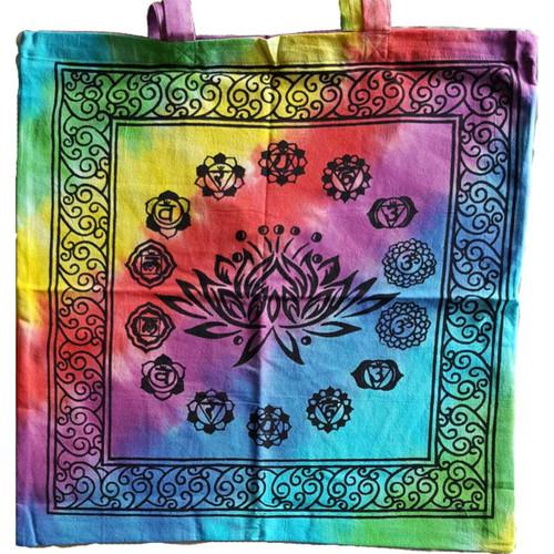 Lotus Chakra Tote Bag