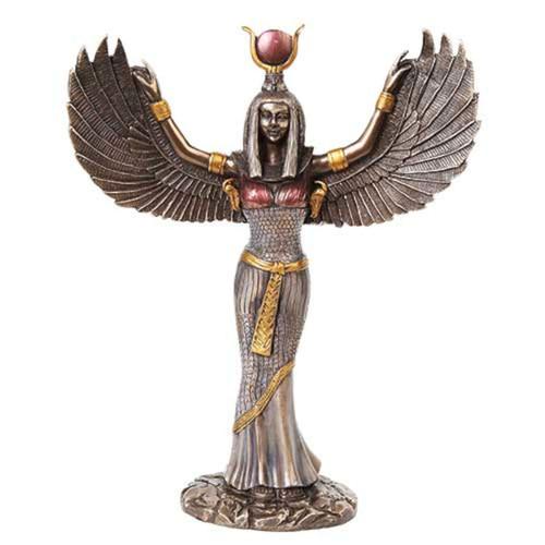 Egyptian Statues, Anubis, Bastet, Isis, Horus, Ra, Thoth