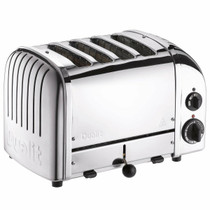 Dualit Dualit Classic 4 Slot Toaster, Polished Stainless Steel, 40378