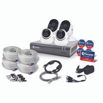 Swann Swann 4 Channel Security System 1080p Full HD DVR-4580 with 1TB HDD and 4 x 1080p Thermal Sensing Cameras